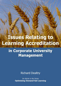 issues relating to learning accreditation