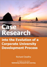 case research in the evolution of corporate university development process