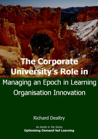 the corporate universitys role in managing an epoch