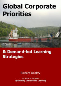 global corporate priorities and demand led learning strategies