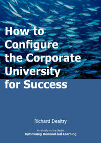 how to configure the corporate university for success