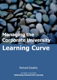 managing the corporate university learning curve