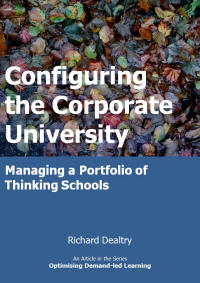 configuring the corporate university