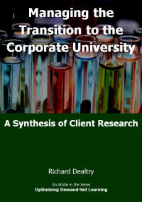 managing the transition to the corporate university